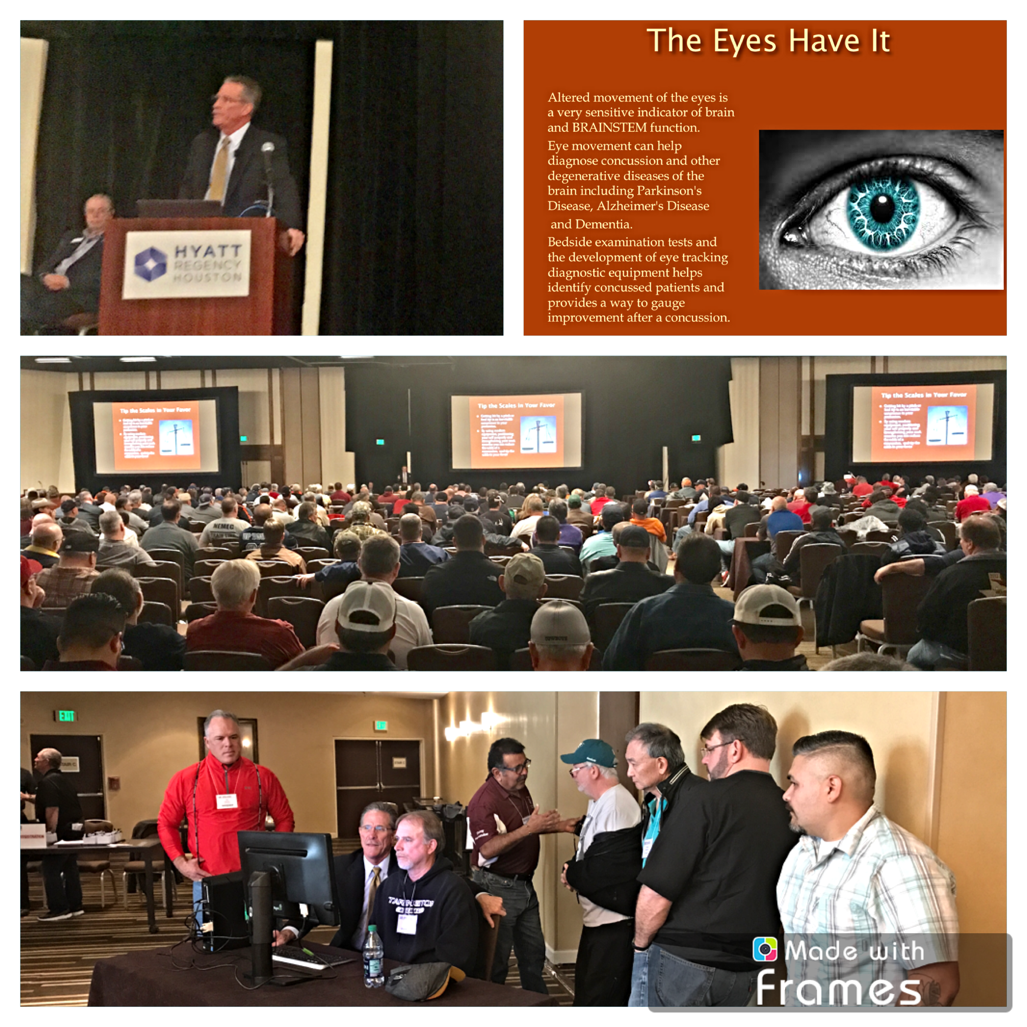 Dr. Simmons Lecturing at the Texas Association of Sports Officials Convention